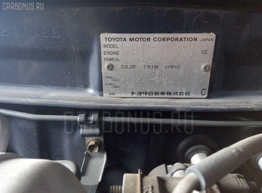 Крышка багажника TOYOTA CORSA EL51 Фото 3