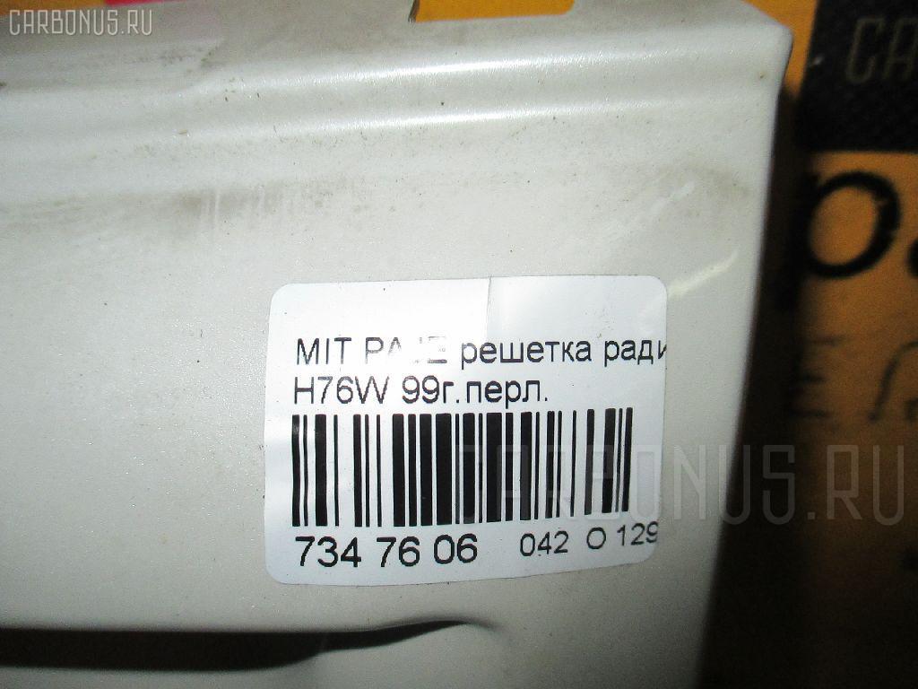 Решетка радиатора MITSUBISHI PAJERO IO H76W Фото 3