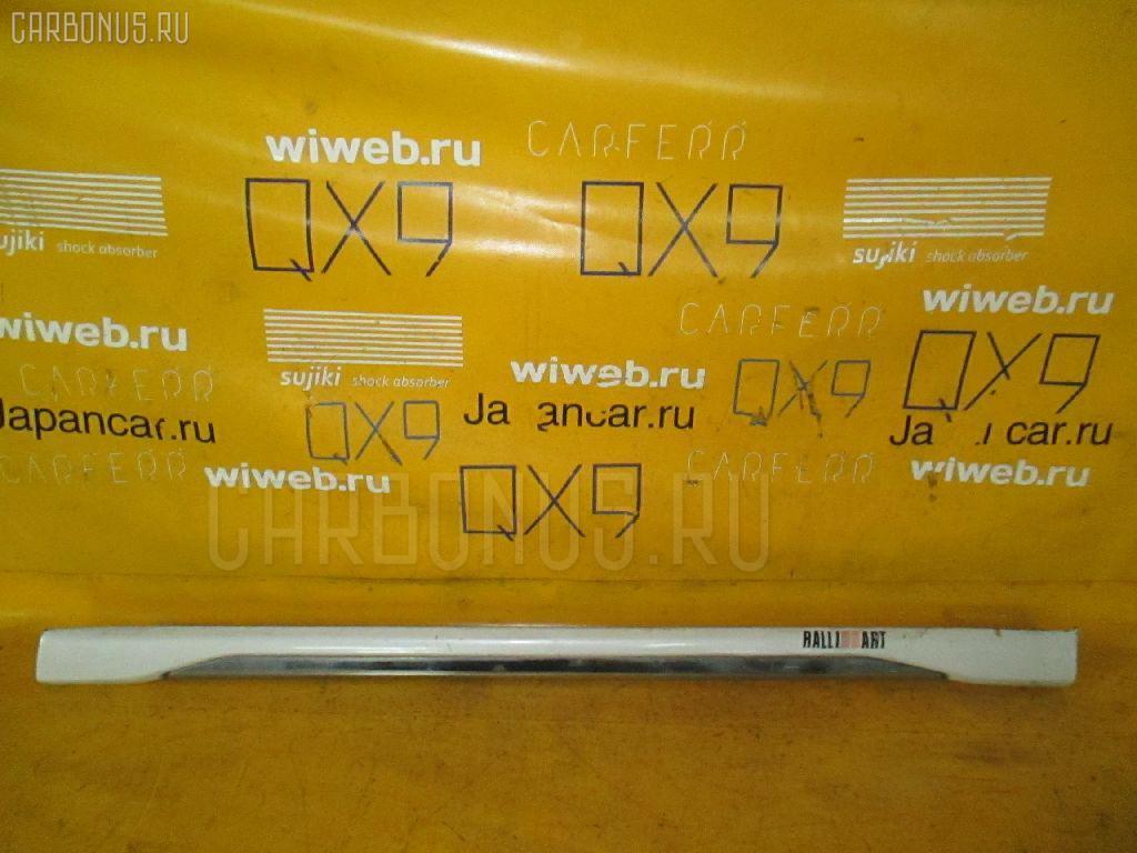 Порог кузова пластиковый ( обвес ) MITSUBISHI PAJERO IO H76W Фото 1
