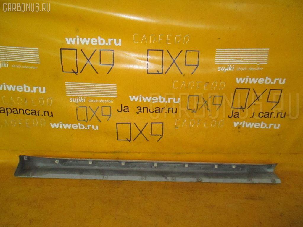 Порог кузова пластиковый ( обвес ) MITSUBISHI PAJERO IO H76W Фото 2