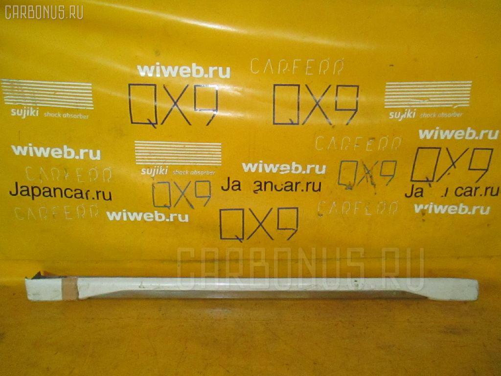 Порог кузова пластиковый ( обвес ) MITSUBISHI PAJERO IO H76W Фото 3