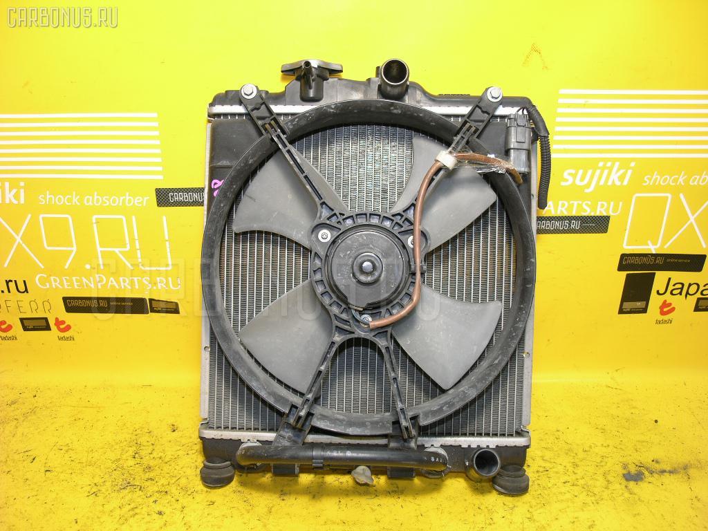 Радиатор ДВС HONDA PARTNER EY6 D13B. Фото 5