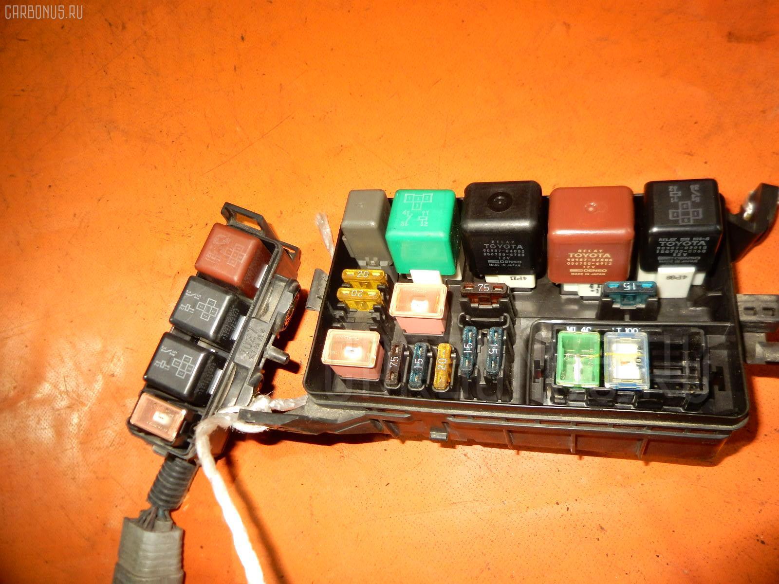 Блок предохранителей TOYOTA COROLLA WAGON EE102V 4E-FE Фото 3