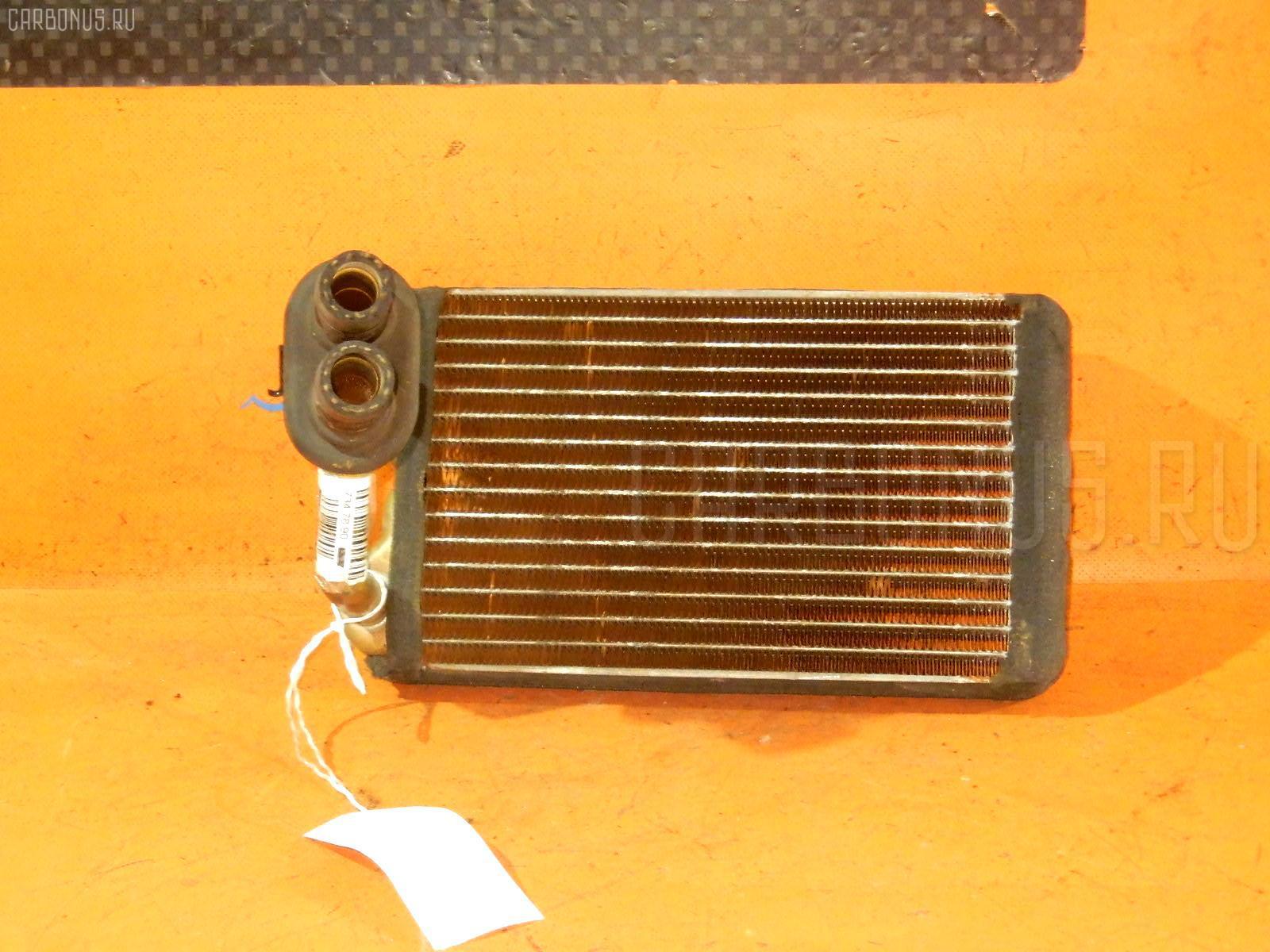 Радиатор печки TOYOTA COROLLA WAGON EE102V 4E-FE. Фото 5