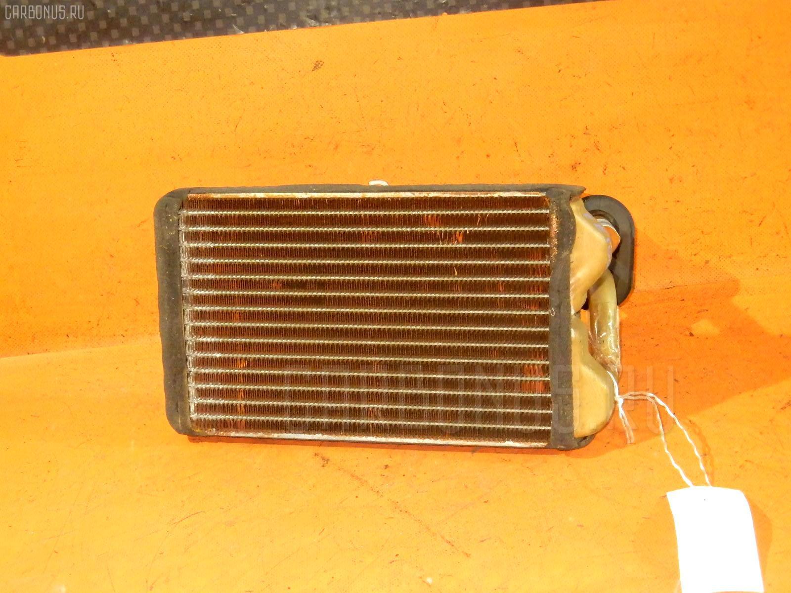 Радиатор печки TOYOTA COROLLA WAGON EE102V 4E-FE. Фото 6