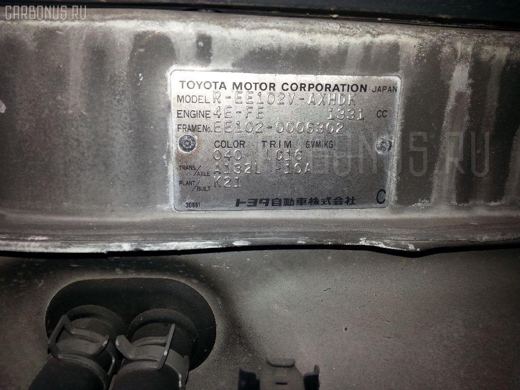 Двигатель TOYOTA COROLLA WAGON EE102V 4E-FE Фото 9