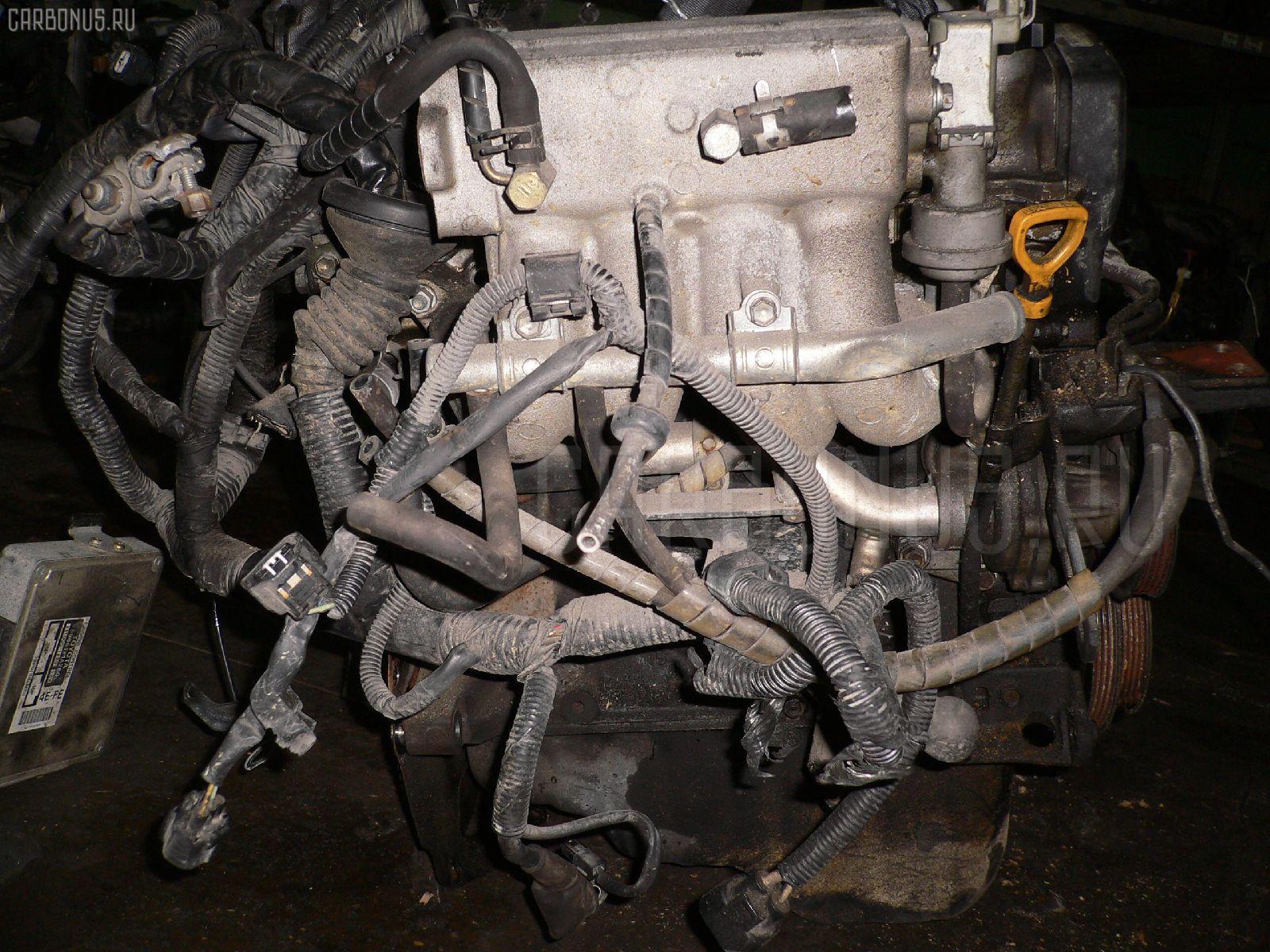 Двигатель TOYOTA COROLLA WAGON EE102V 4E-FE Фото 5