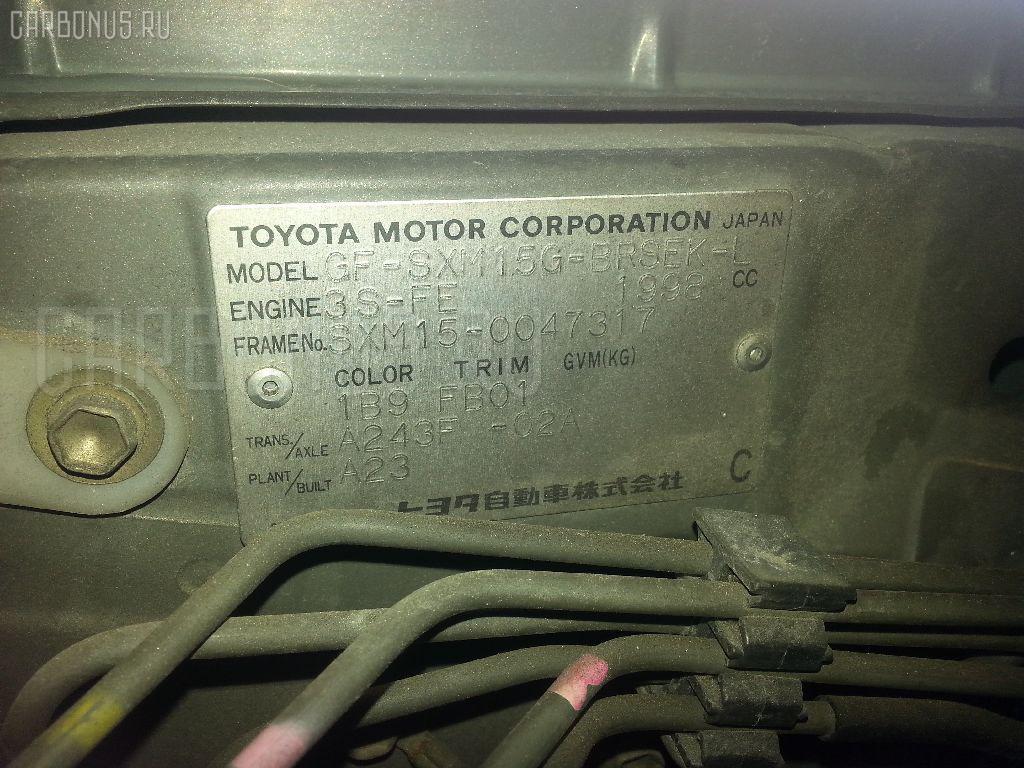 Двигатель TOYOTA GAIA SXM15G 3S-FE Фото 9