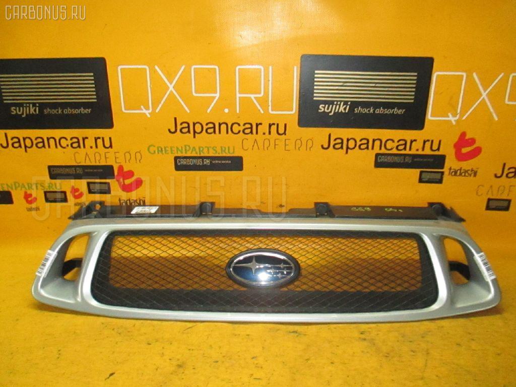 Решетка радиатора SUBARU IMPREZA WAGON GG9 Фото 1
