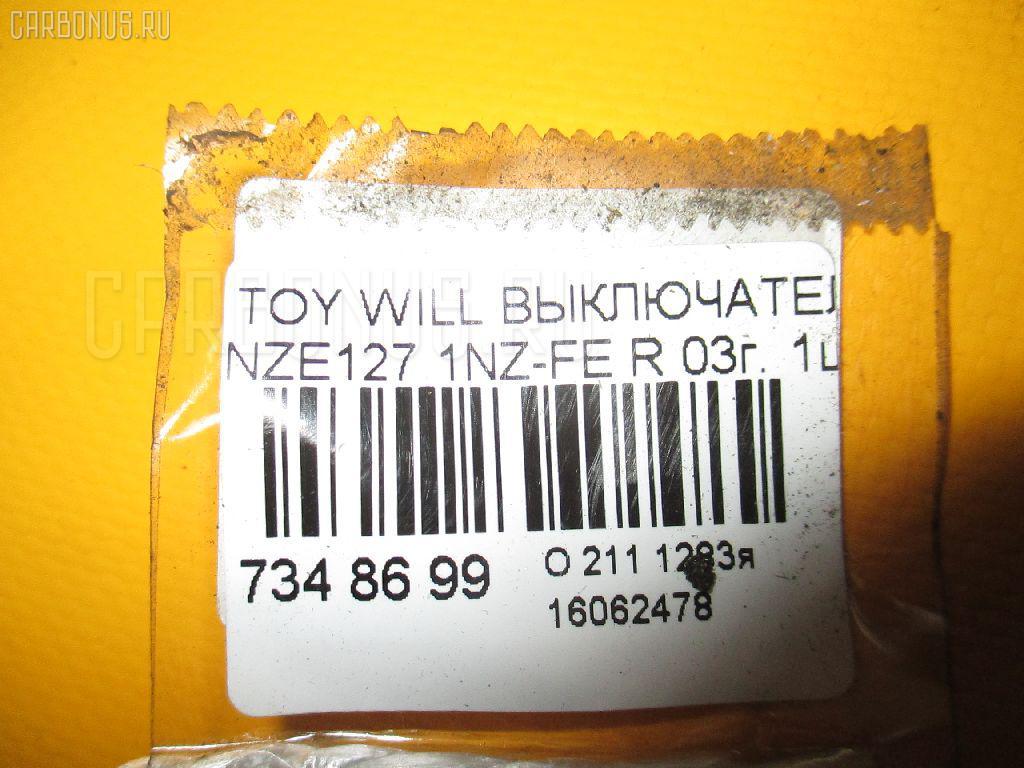 Выключатель концевой TOYOTA WILL VS NZE127 1NZ-FE Фото 2