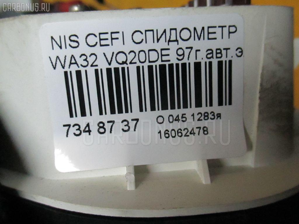 Спидометр NISSAN CEFIRO WAGON WA32 VQ20DE Фото 3