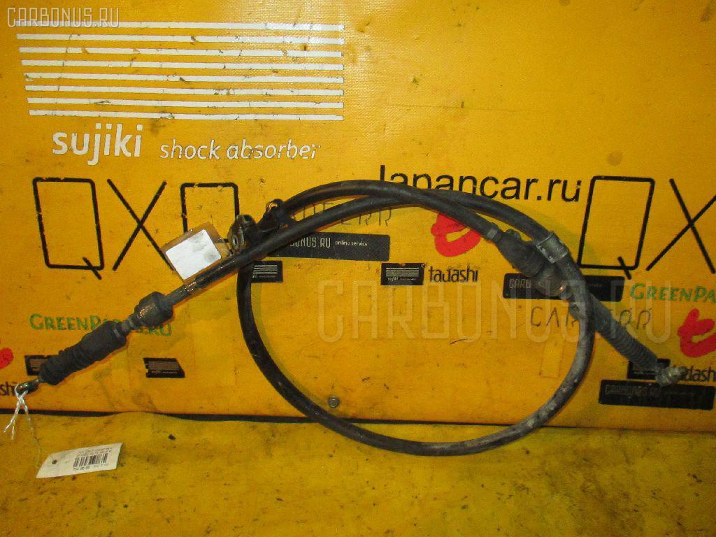 Тросик на коробку передач TOYOTA CALDINA ST195G 3S-FE. Фото 7