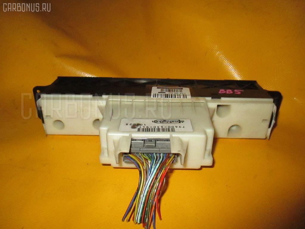 Блок управления климатконтроля HONDA PRELUDE BB5 F22B Фото 2