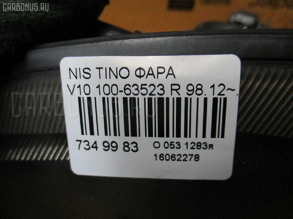 Фара NISSAN TINO V10 Фото 3