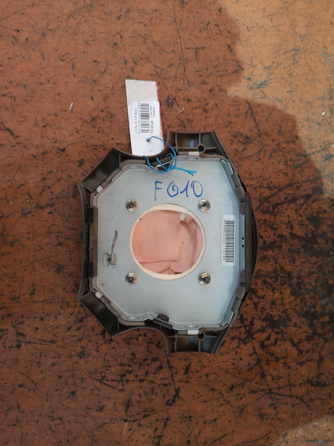 Air bag на Nissan Bluebird Sylphy FG10 Фото 1