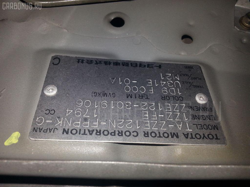 Подушка двигателя TOYOTA COROLLA SPACIO ZZE122N 1ZZ-FE Фото 3