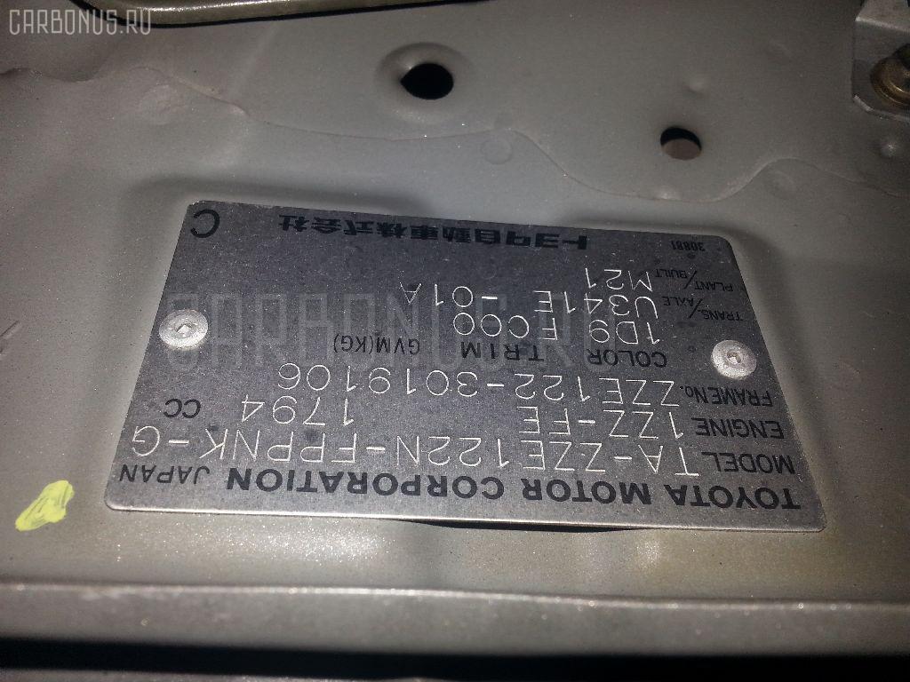 Двигатель TOYOTA COROLLA SPACIO ZZE122N 1ZZ-FE Фото 9