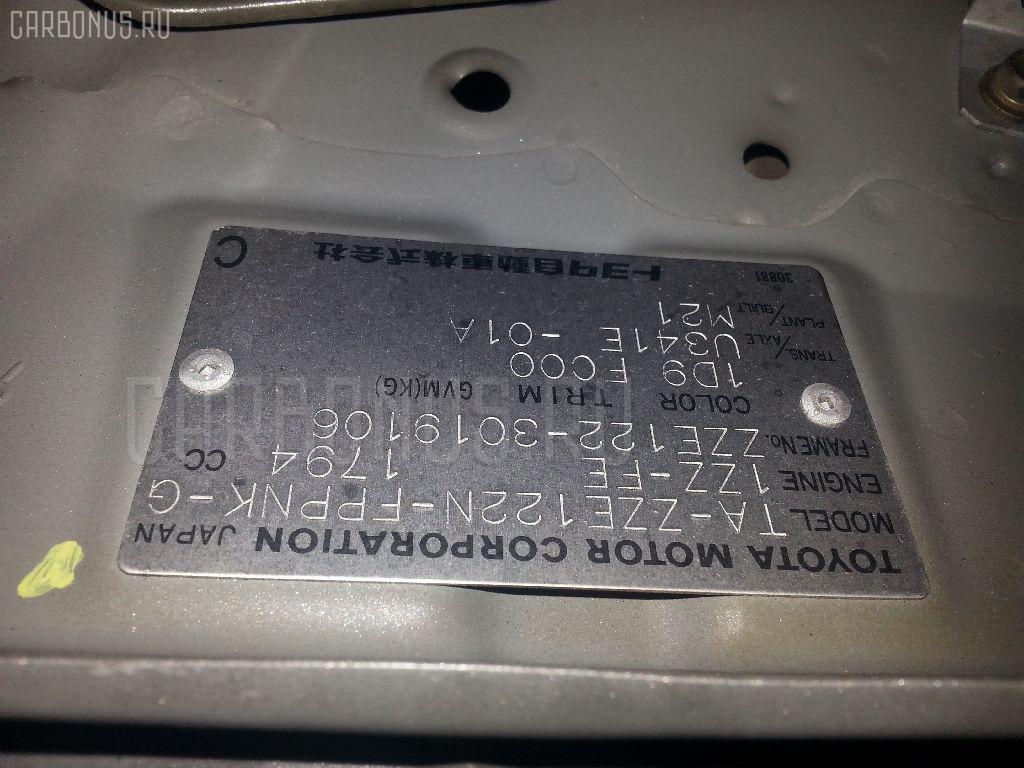 Дроссельная заслонка TOYOTA COROLLA SPACIO ZZE122N 1ZZ-FE Фото 3