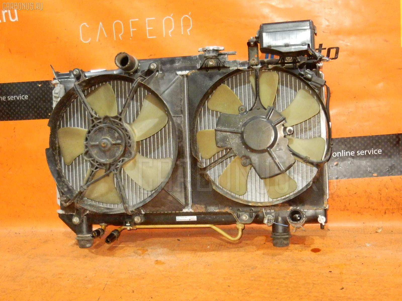 Радиатор ДВС TOYOTA CALDINA ST195G 3S-GE. Фото 4
