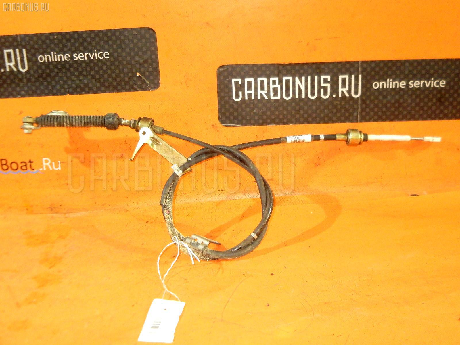 Тросик на коробку передач TOYOTA CARINA AT212 5A-FE. Фото 3