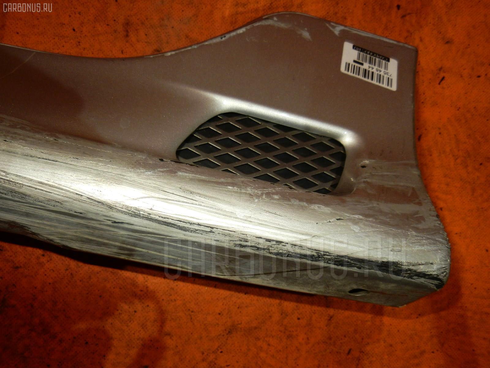 Порог кузова пластиковый ( обвес ) TOYOTA COROLLA RUNX NZE121. Фото 4