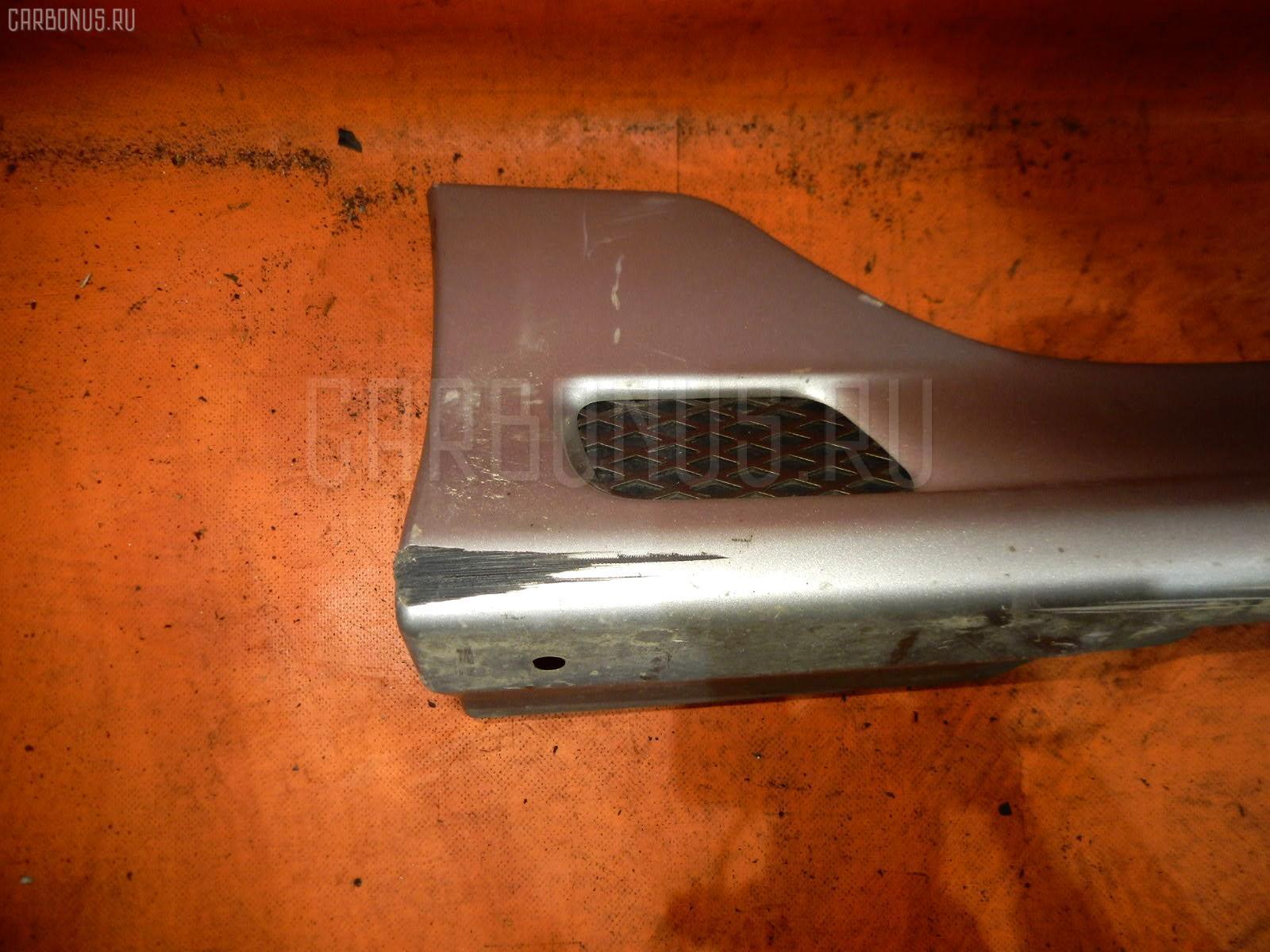 Порог кузова пластиковый ( обвес ) TOYOTA COROLLA RUNX NZE121. Фото 11