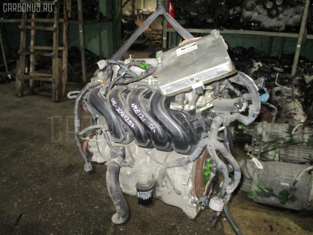 Двигатель TOYOTA COROLLA RUNX NZE121 1NZ-FE Фото 2