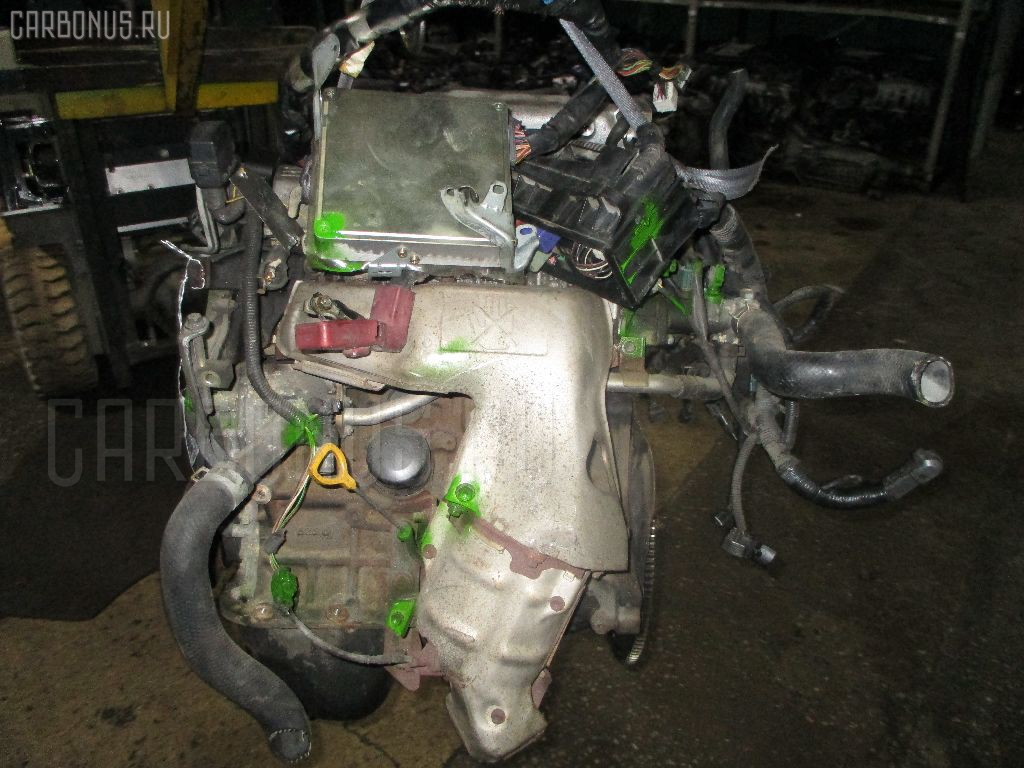 Двигатель TOYOTA RAV4 SXA11G 3S-FE. Фото 2
