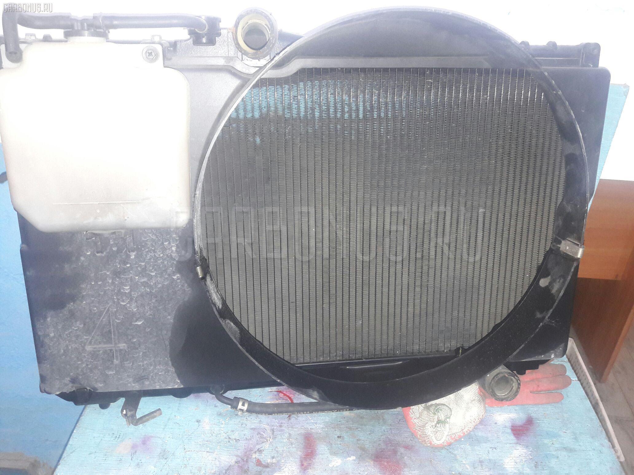 Радиатор ДВС TOYOTA CRESTA GX90 1G-FE. Фото 9