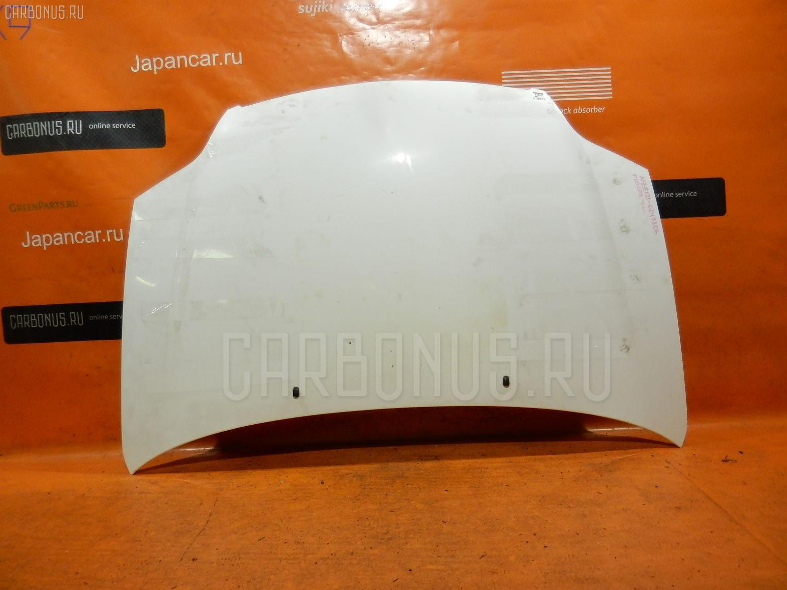 Капот TOYOTA COROLLA FIELDER NZE121G Фото 2