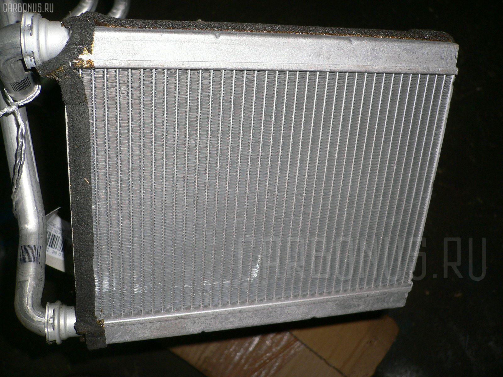 Радиатор печки TOYOTA COROLLA FIELDER NZE121G 1NZ-FE. Фото 2