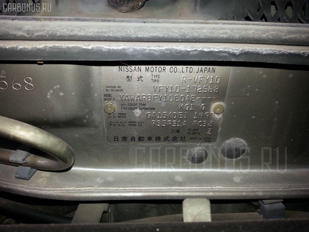 Радиатор печки NISSAN AD VAN VFY10 GA15DE Фото 3
