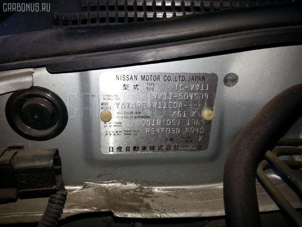 Пружина NISSAN EXPERT VW11 QG18DE Фото 2