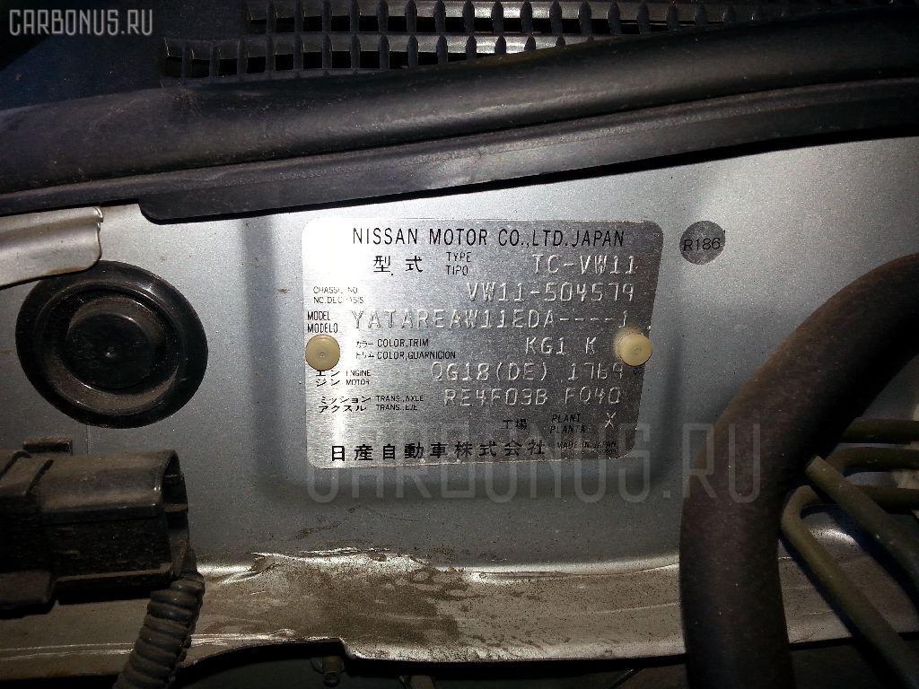 Брызговик NISSAN EXPERT VW11 Фото 2