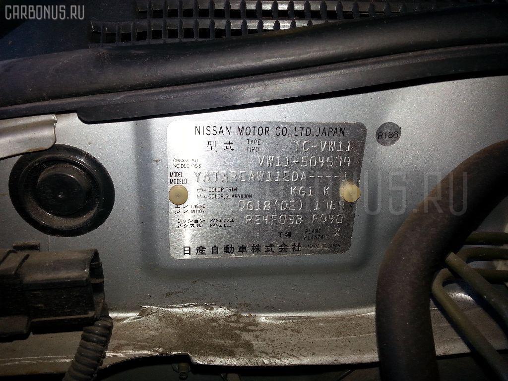 Стартер NISSAN EXPERT VW11 QG18DE Фото 5