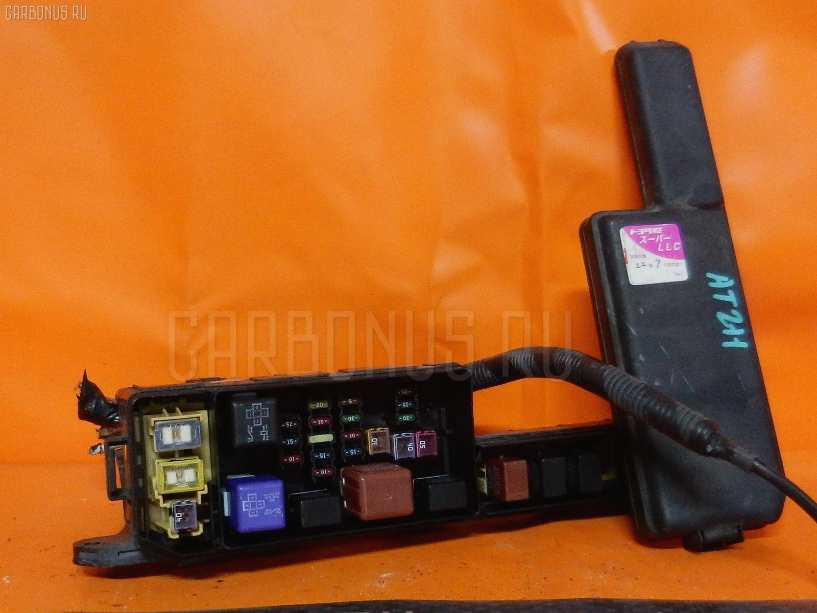 Блок предохранителей TOYOTA CALDINA AT211G 7A-FE. Фото 6