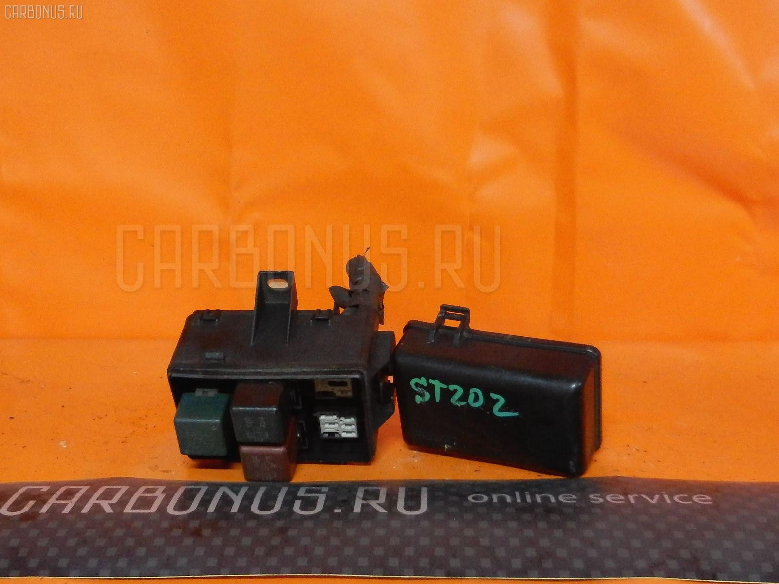 Блок предохранителей TOYOTA CORONA EXIV ST202 3S-FE. Фото 6