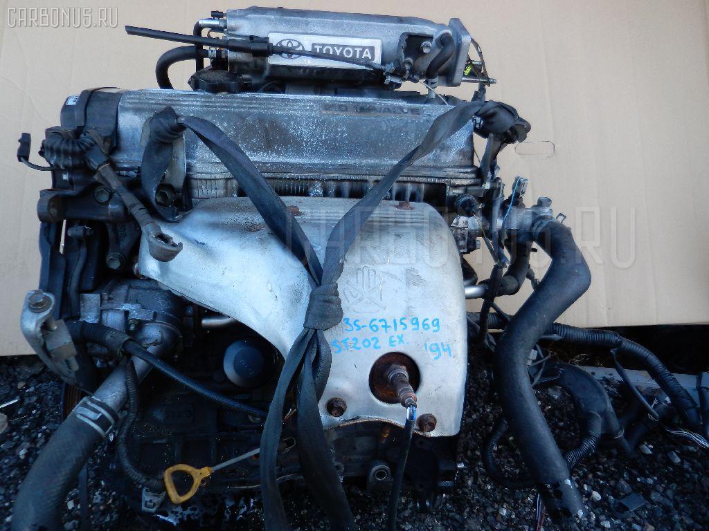Двигатель TOYOTA CELICA ST202 3S-FE. Фото 6