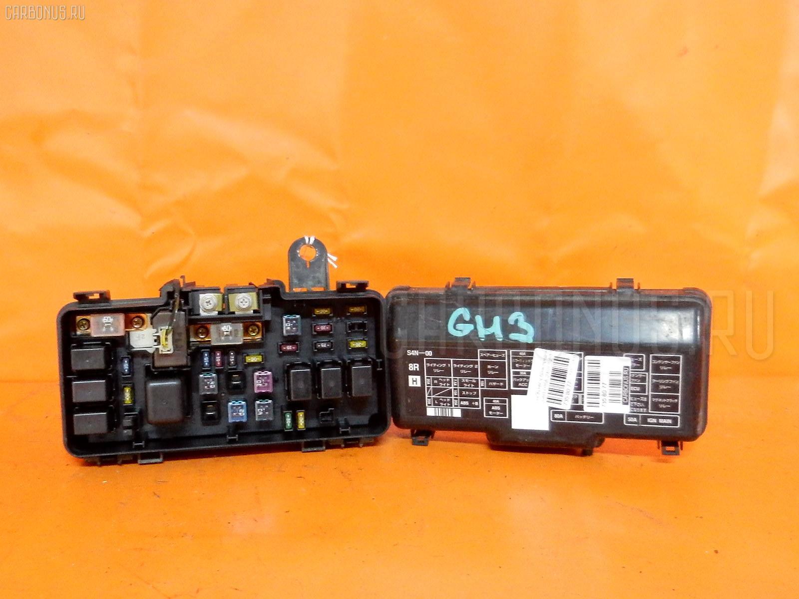 Блок предохранителей HONDA HR-V GH3 D16A. Фото 5