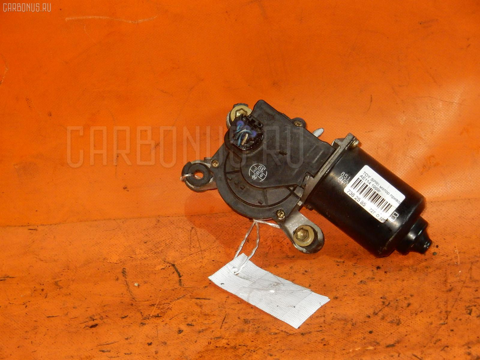 Мотор привода дворников TOYOTA SPRINTER AE114 Фото 1