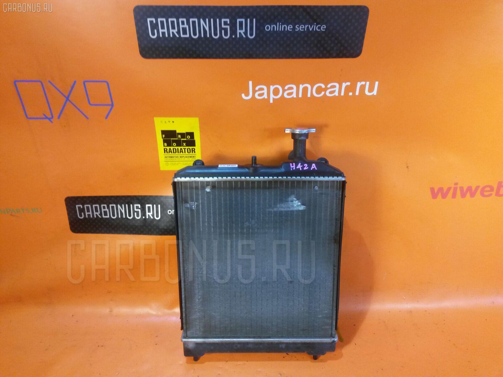 Радиатор ДВС MITSUBISHI MINICA H42A 3G83 Фото 1