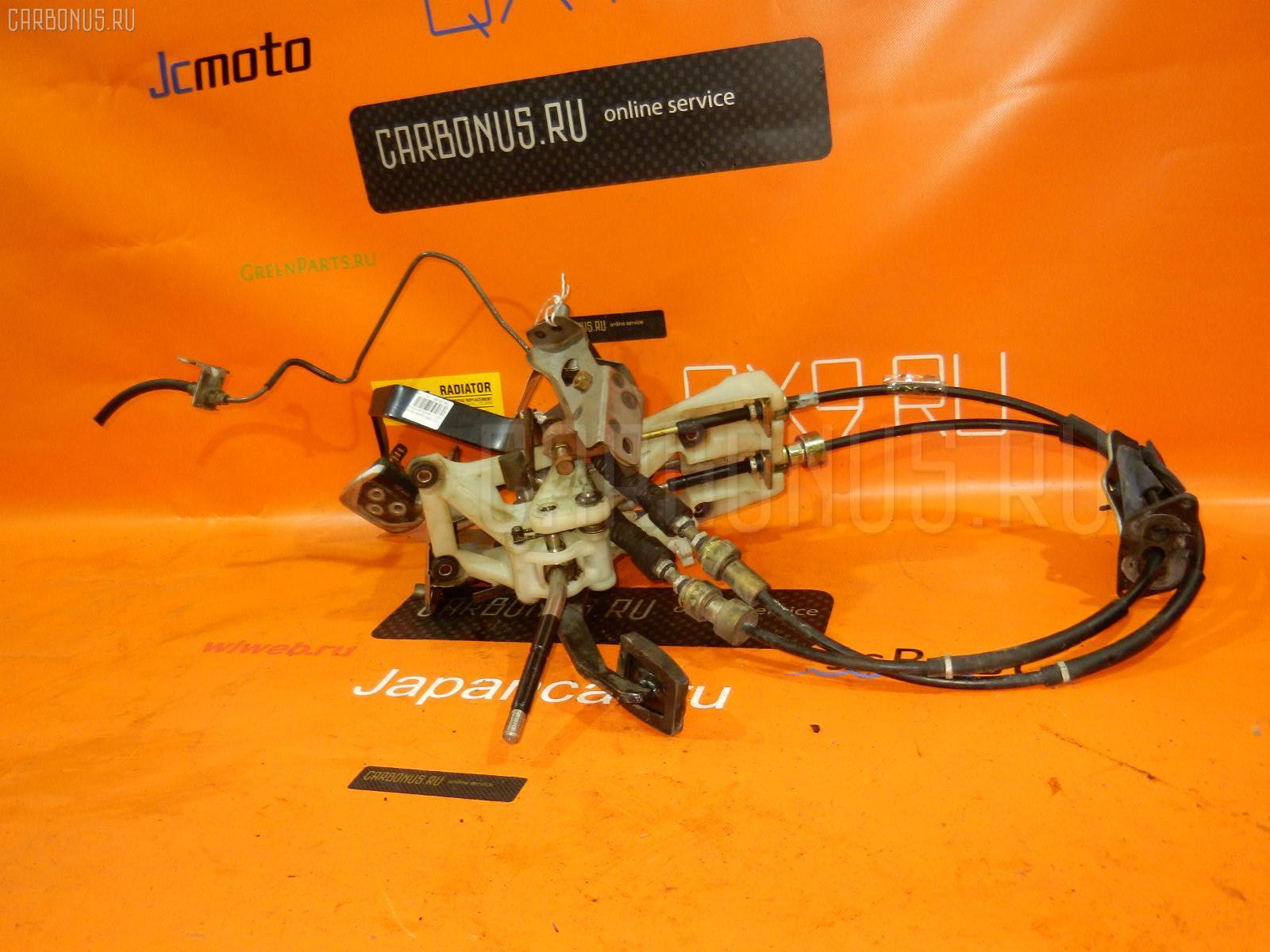 Тросик на коробку передач TOYOTA SPRINTER TRUENO AE111 4A-GE. Фото 3
