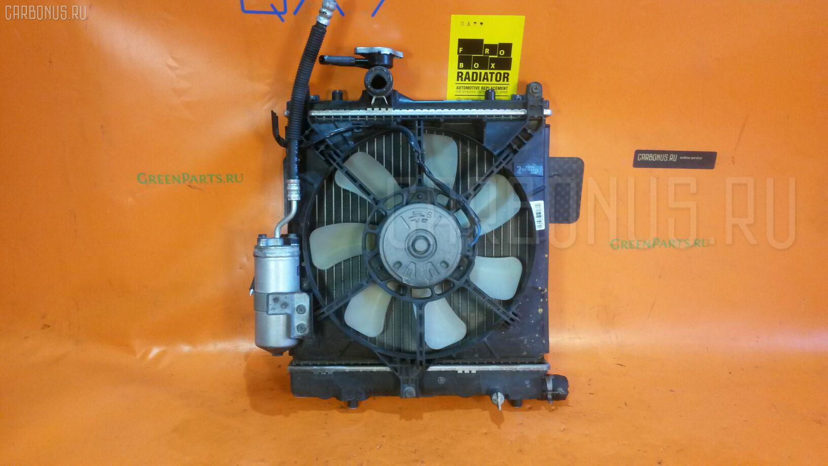 Радиатор ДВС SUZUKI WAGON R MC22S K6A. Фото 10