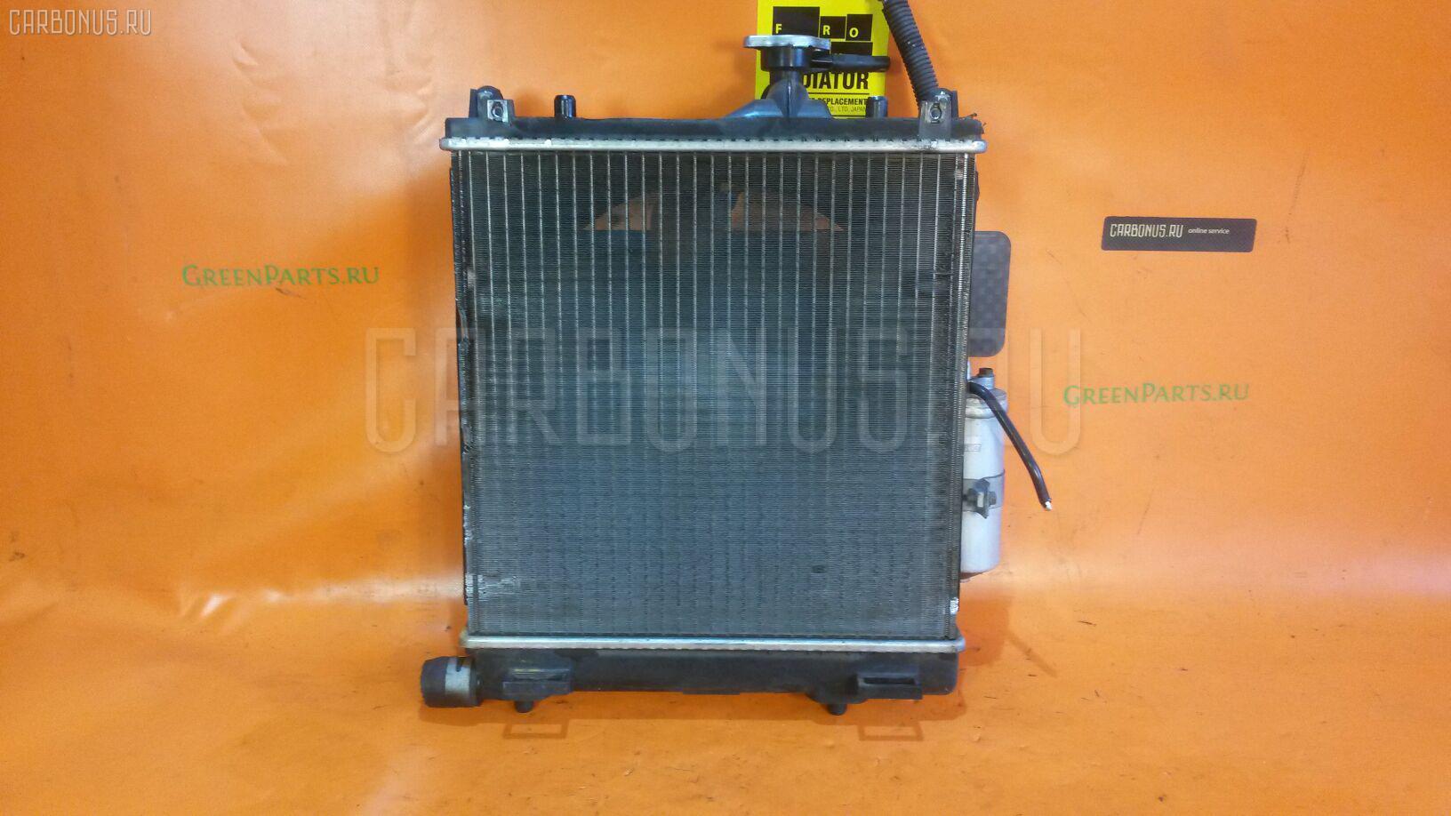 Радиатор ДВС SUZUKI WAGON R MC22S K6A. Фото 9