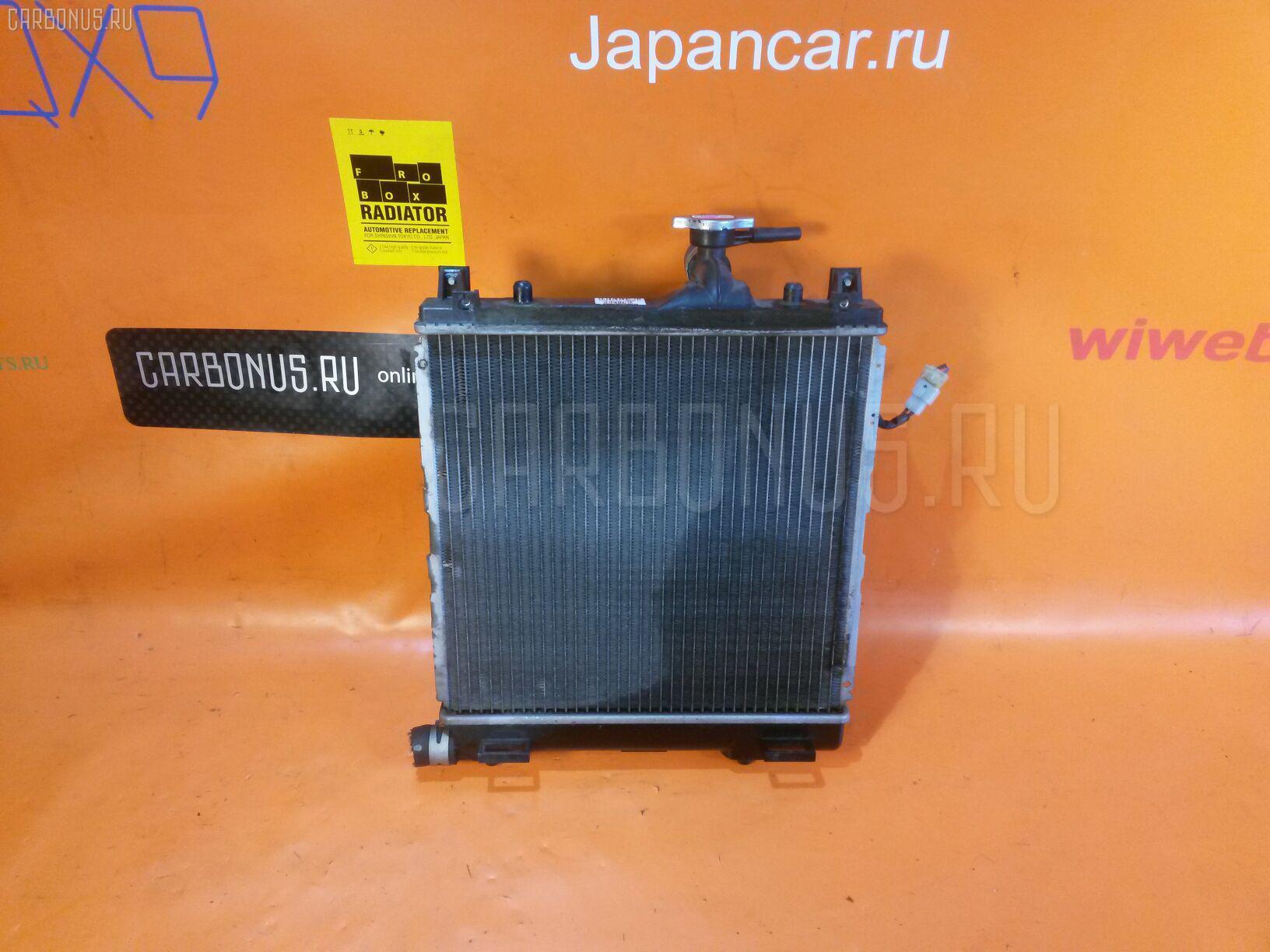 Радиатор ДВС SUZUKI KEI HN22S K6A. Фото 7