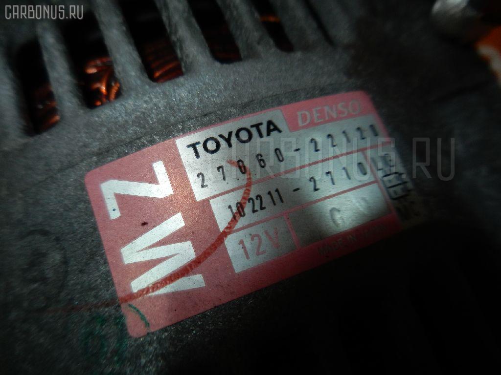 Генератор TOYOTA ALLION ZZT245 1ZZ-FE Фото 3