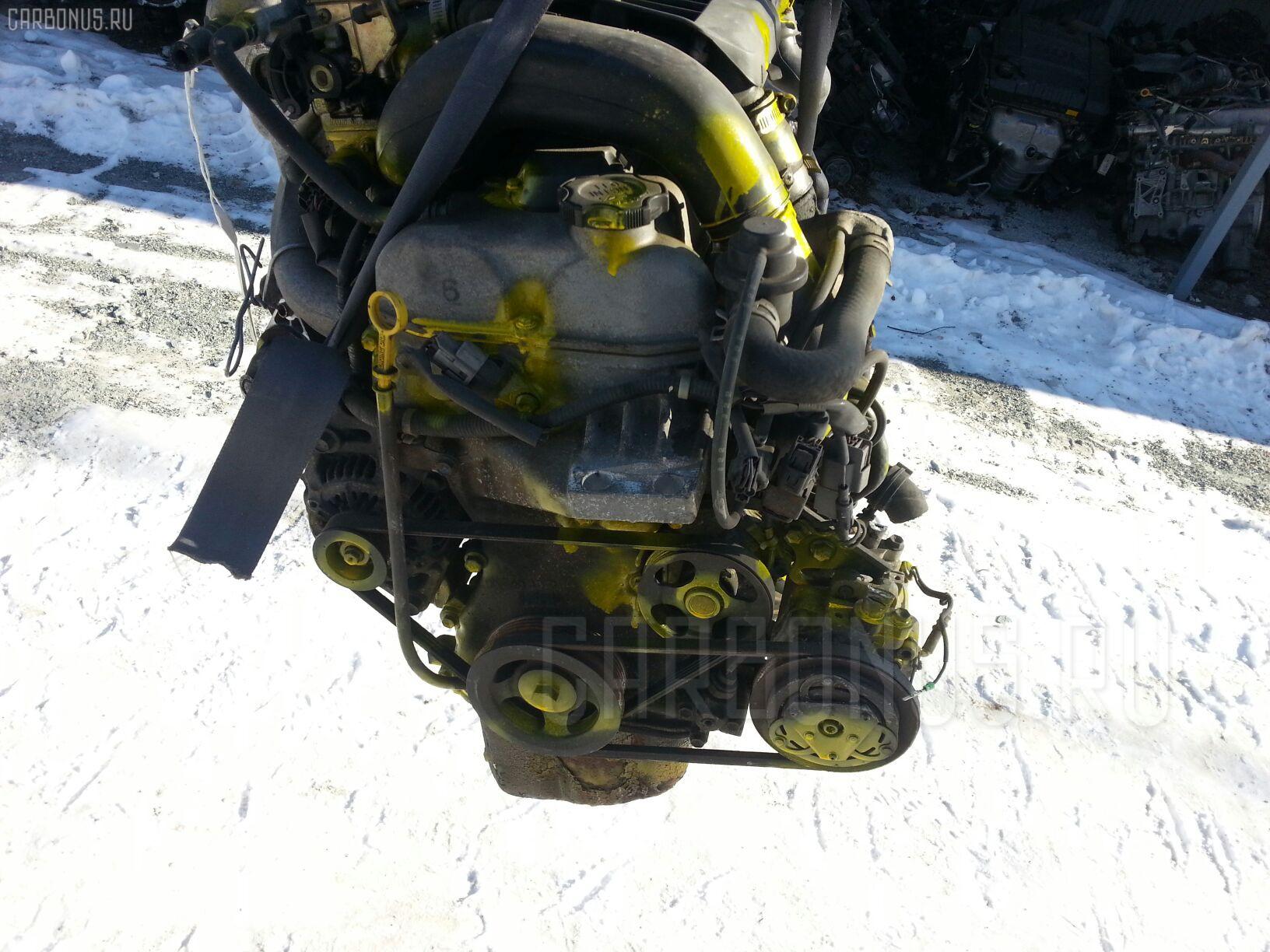 Двигатель SUZUKI KEI HN21S K6A-T. Фото 9