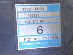 Двигатель SUZUKI KEI HN21S K6A-T Фото 9