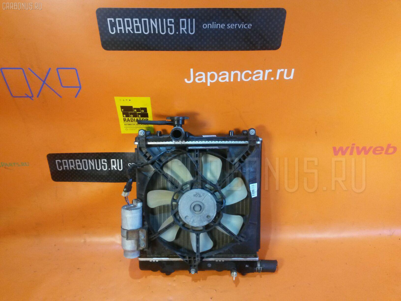 Радиатор ДВС SUZUKI KEI HN22S K6A Фото 2