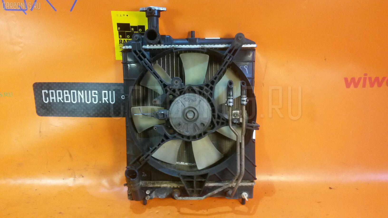 Радиатор ДВС MITSUBISHI MINICA H47V 3G83. Фото 4